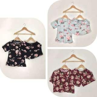 Floral Terno Shorts