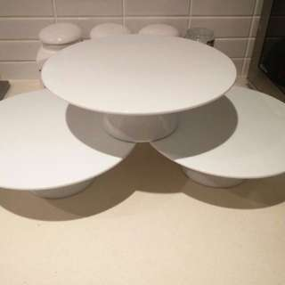 Set Of 3 Cake Stands