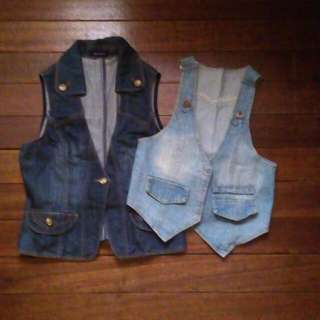 Bundle Of 2 (Mogao denim Cover Ups)