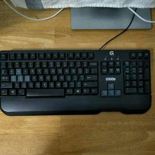 Logitech G100s Gaming Keyboard