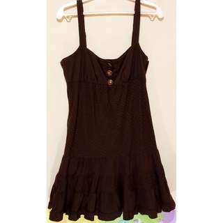 Bebe Brown Dress