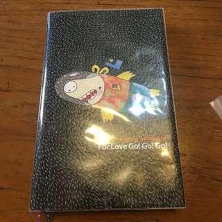 🚚 太空豬空白筆記本