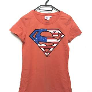 *New* Authentic SuperGirl TOP From Super Heroes