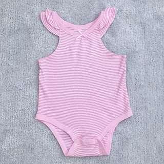 Baby Girl Sleeveless Romper