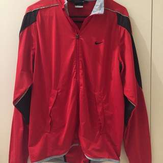 Nike Dry-Fit Red Jacket M Size