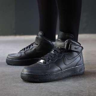 Nike Airforce 1 Highcut (Black)