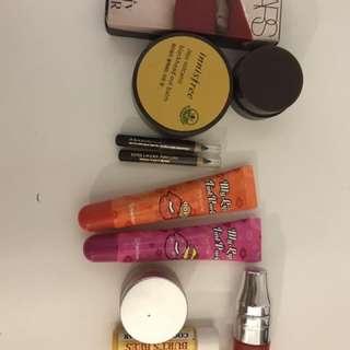 Lot Of NARS Innisfree Lancôme Etc Lip Eyeliner