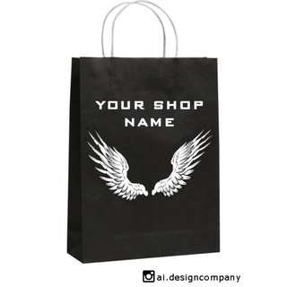 Personalized Paper Bags//Loot Bags