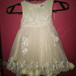 (Repriced) Off-White Dress
