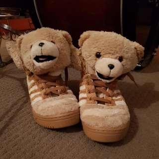 Jeremy Scott X Adidas Original Teddy Bears