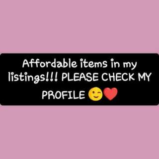 Take A Look!! Very Affordable Prices!! 😀💕👗