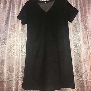 MUJI Brown Velvet Dress