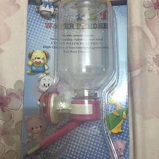 寵物飲水器(貓狗適用-粉色)