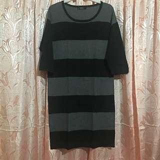 MANGO Stripe 3/4s Dress