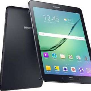 "Samsung 9.7"" Galaxy tab S2 cellular and wifi with long warranty!"
