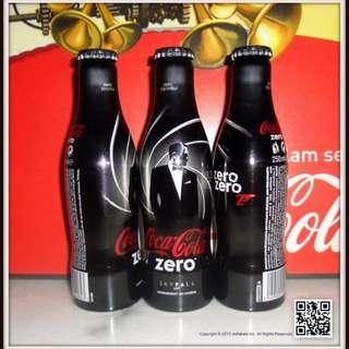 Coca-Cola James Bond Aluminum Bottle