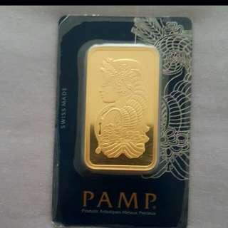 100g Pamp Gold Bar