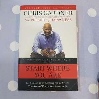 Start Where You Are - Chris Gardner