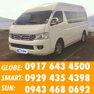 PICK UP DROP OFF VAN FOR RENT VAN FOR HIRE VAN RENTAL SERVICE CAR FOR HIRE CAR FOR RENT CAR RENTAL