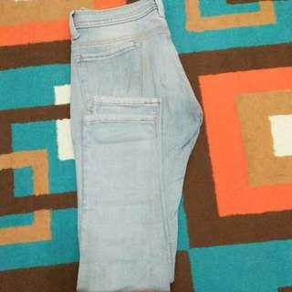 Celana Jeans Light Blue