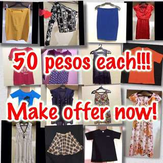 50 pesos each! ☺️💕