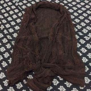 F&H BROWN COVER UP TOP (LARGE)