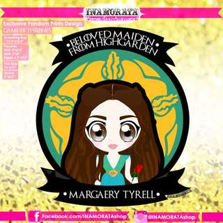 Game of Thrones Margaery Tyrell Chibi by INAMORATA
