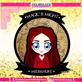 Game of Thrones Melisandre Chibi by INAMORATA