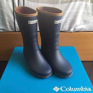 日本購入 Columbia 哥倫比亞 中筒 雨鞋