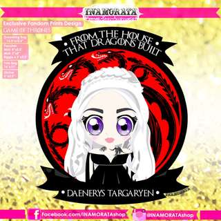 Daenerys Targaryen Chibi Game of Thrones by INAMORATA