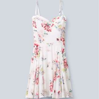 Aritzia Floral Girly Dress Taulula