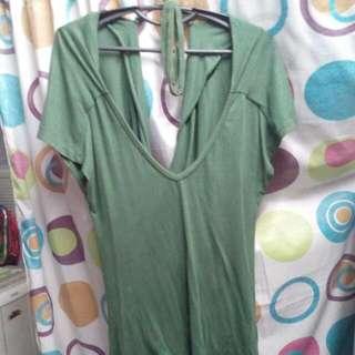 semi dress nonbrand (green)