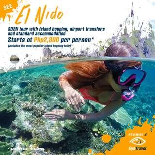 EL NIDO: 3D2N Basic Package