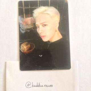{USA ONLY} Got7: Jackson Mad Official Photocard