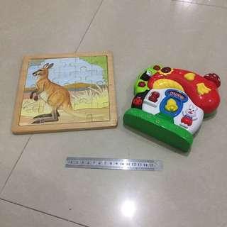 Puzzle Dan Mainan Balita Obero