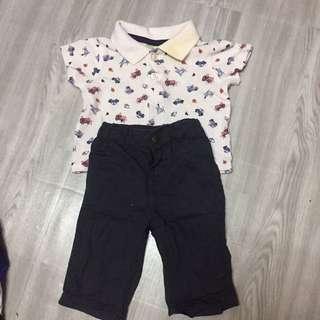 One Set Shirt And Pant