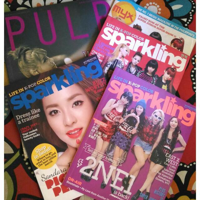 2NE1 Magazines