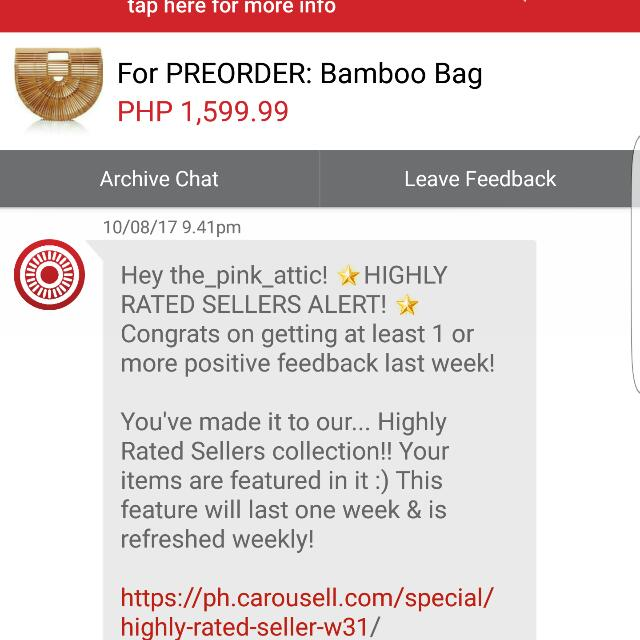 3rd! Thank You Carousell! ❤💛