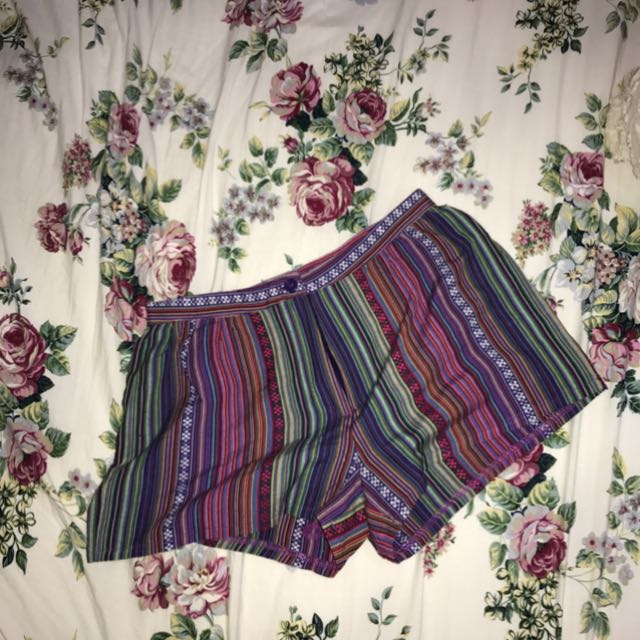 (50RIBU FOR 3PCS😂💕) ETHNIC SHORTS