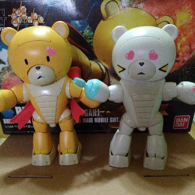 模型玩具熊,有腳可以擺動,保存良好