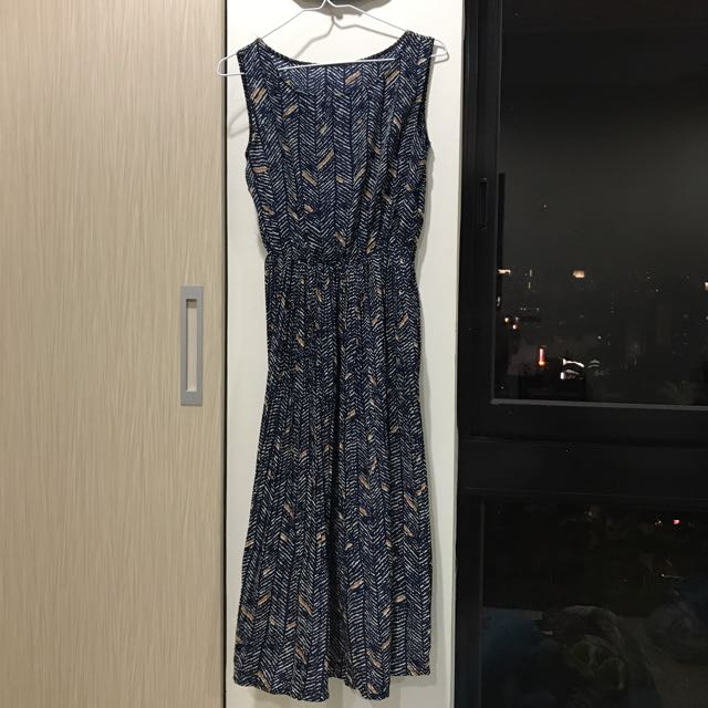 🎉-降價無袖長洋裝👗