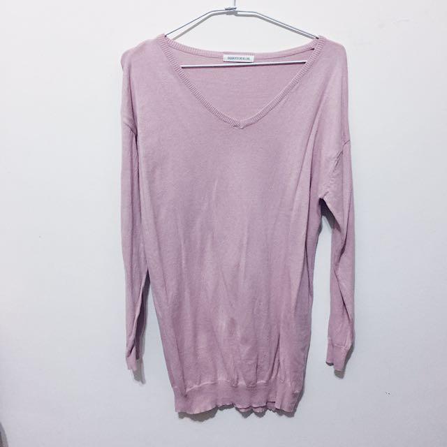 日本帶回🇯🇵 日本專櫃 粉色針織衫