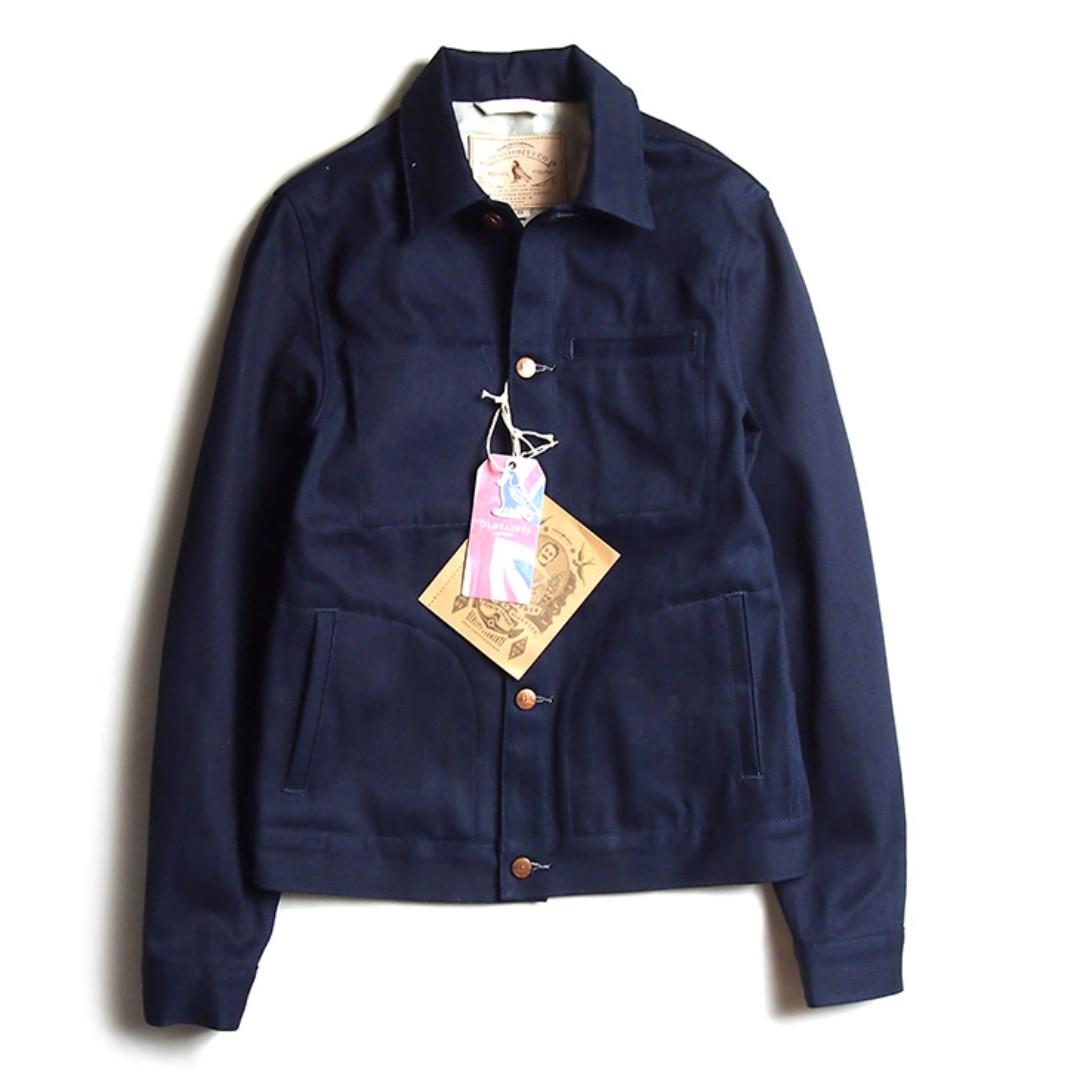 阿美卡機 美式復古 工裝 短版外套