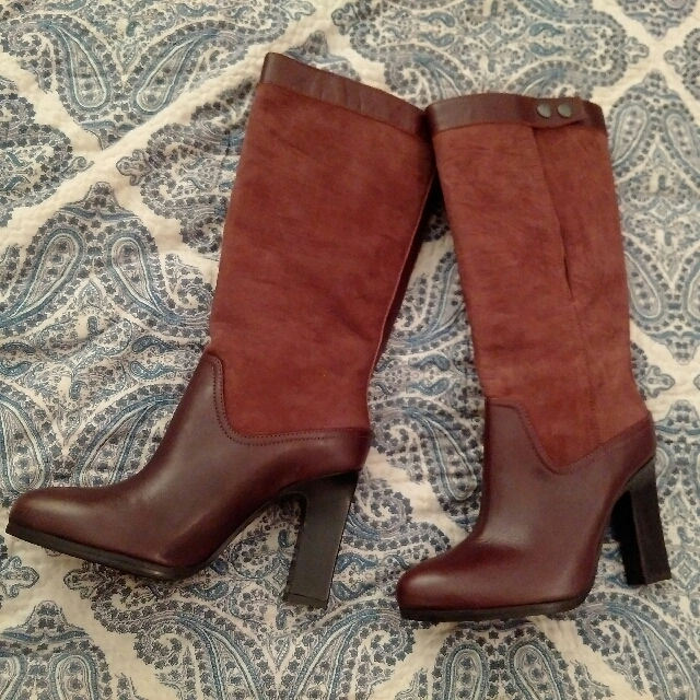 & Other Stories Italian Leather Boots - size 37