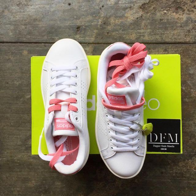 Adidas Neo Cloudfoam (Rosa), Fasyen Wanita, Kasut di Carousell
