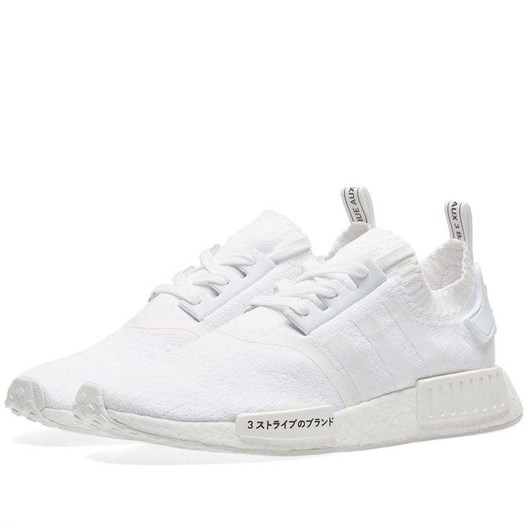 d416547d59f64 ADIDAS NMD R1 PK TRIPLE WHITE JAPAN EDITION