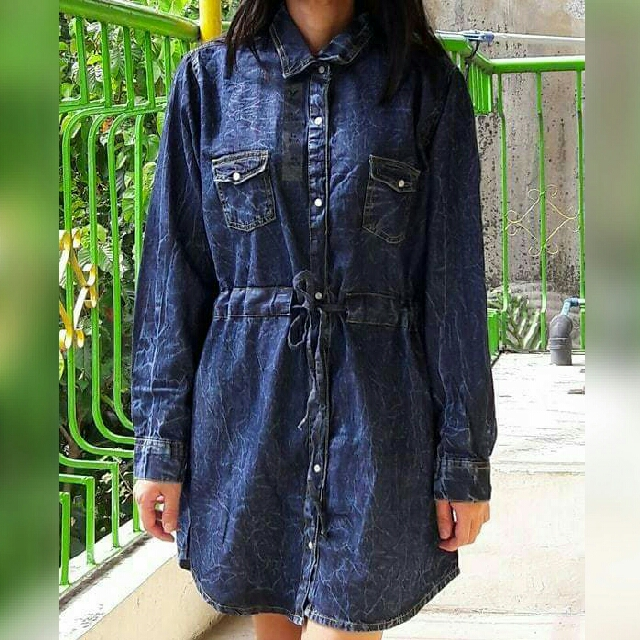 American Eagle Denim Dress