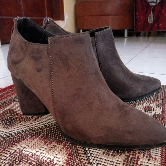 Ankle Boots Something Borrowed