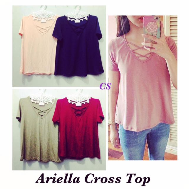 👚Ariella Cross Top👚