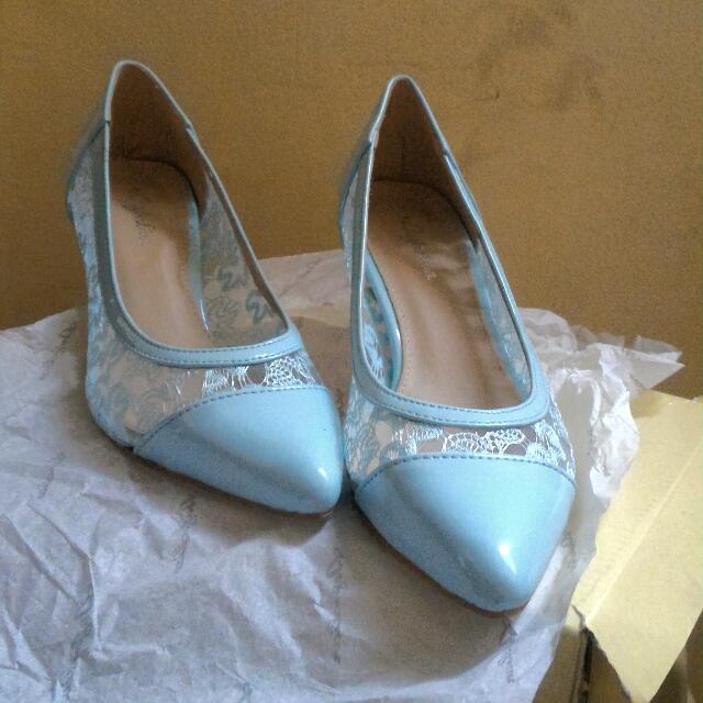 Australian Blue High Heels